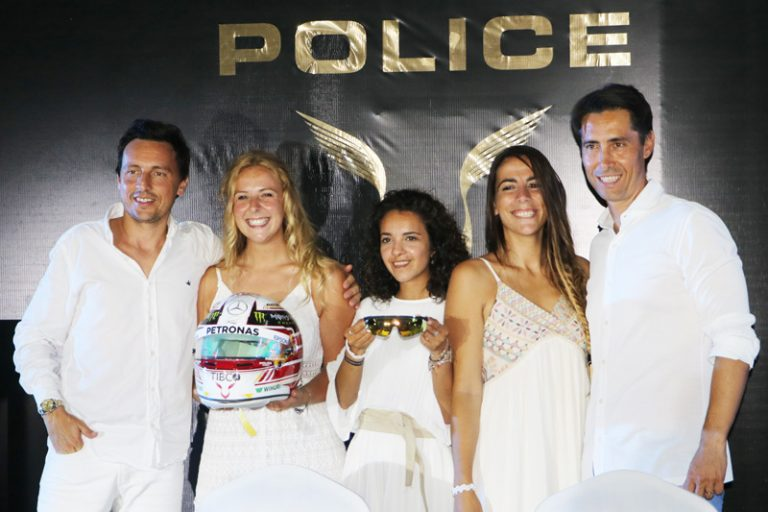 POLICE by Lewis Hamilton, un tributo al estilo y a la velocidad