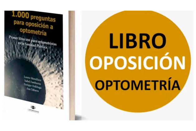 1er Libro Oposición para optometristas en la Sanidad Pública