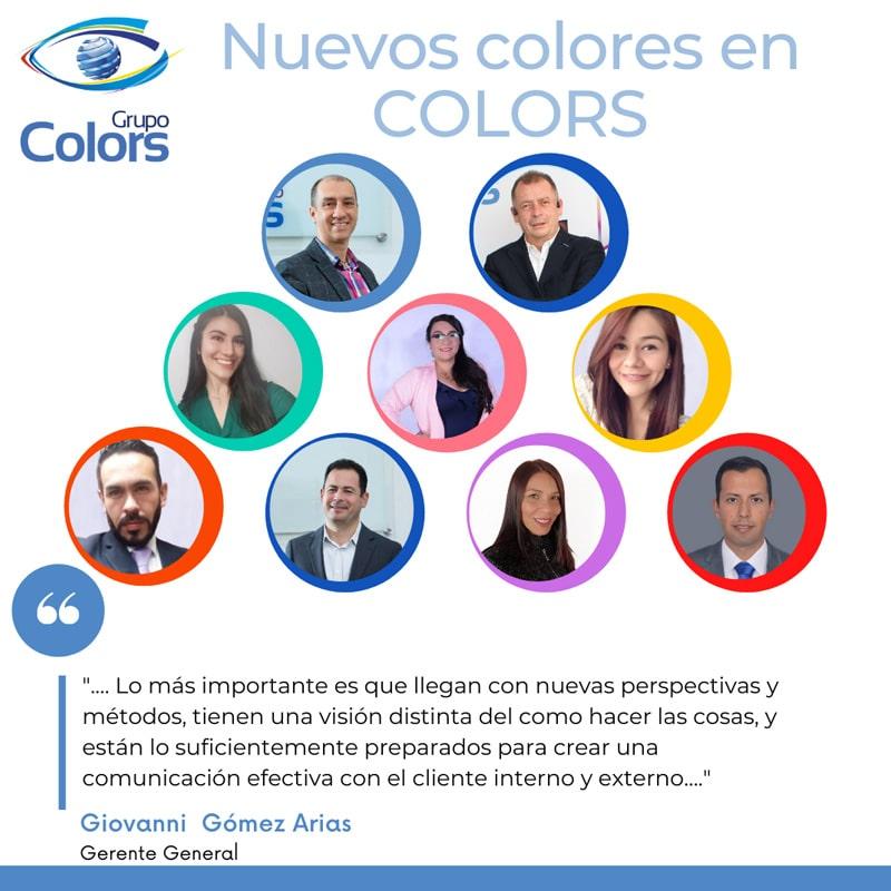 ¡Grupo Colors se reinventa con nuevos colores!