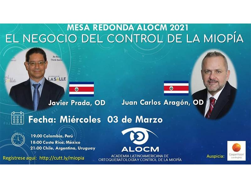Webinar de la Academia Latinoamericana de Ortoqueratología y Control de Miopía - ALOCM
