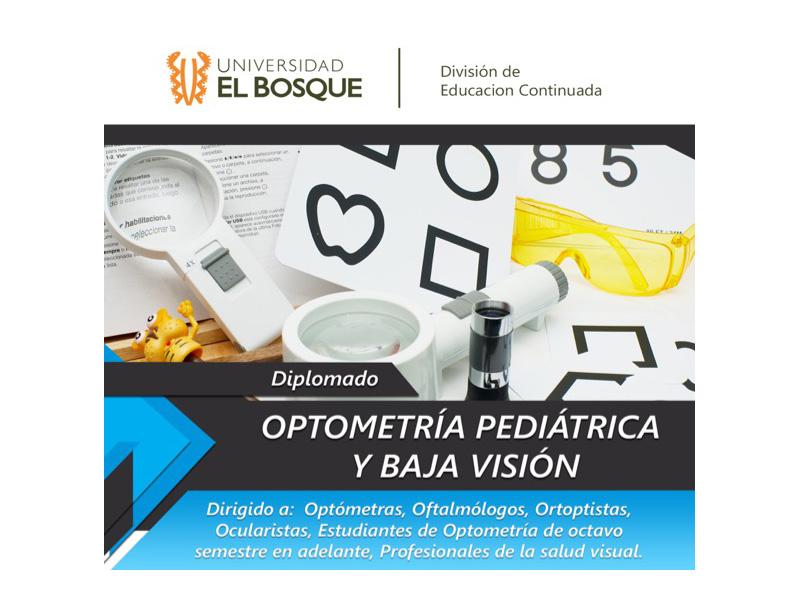 Diplomado en Optometría y Baja Visión