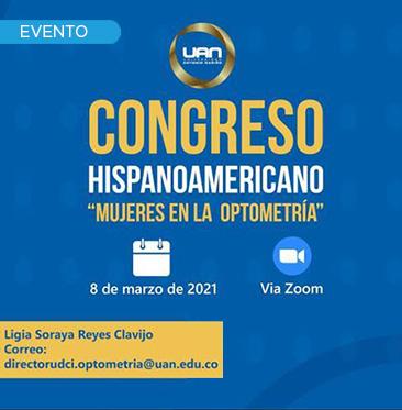 Congreso Hispanoamericano Mujeres en la Optometría
