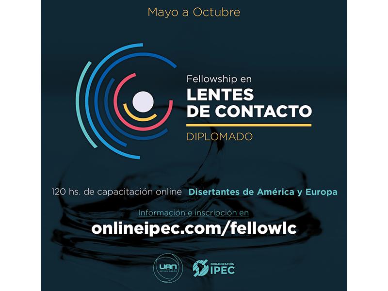 Organización IPEC: Diplomado en Fellowship en Lentes de Contacto
