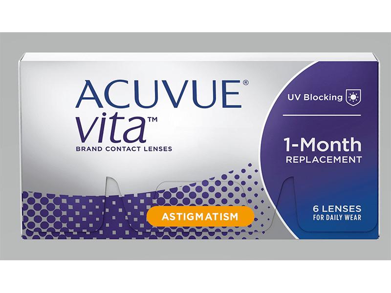 ACUVUE VITA® para astigmatismo