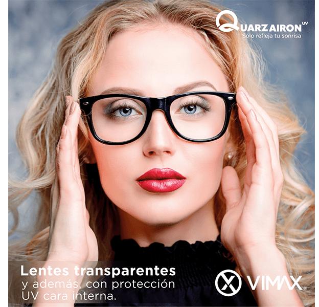 En Grupo Prats , lentes VIMAX y QUARZ, una combinación perfecta