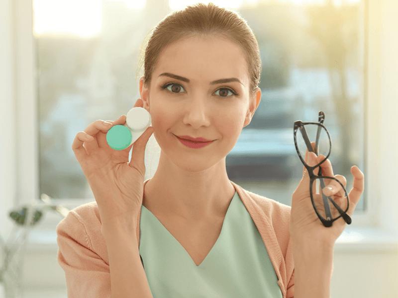 Niños y adaptación de lentes de contacto