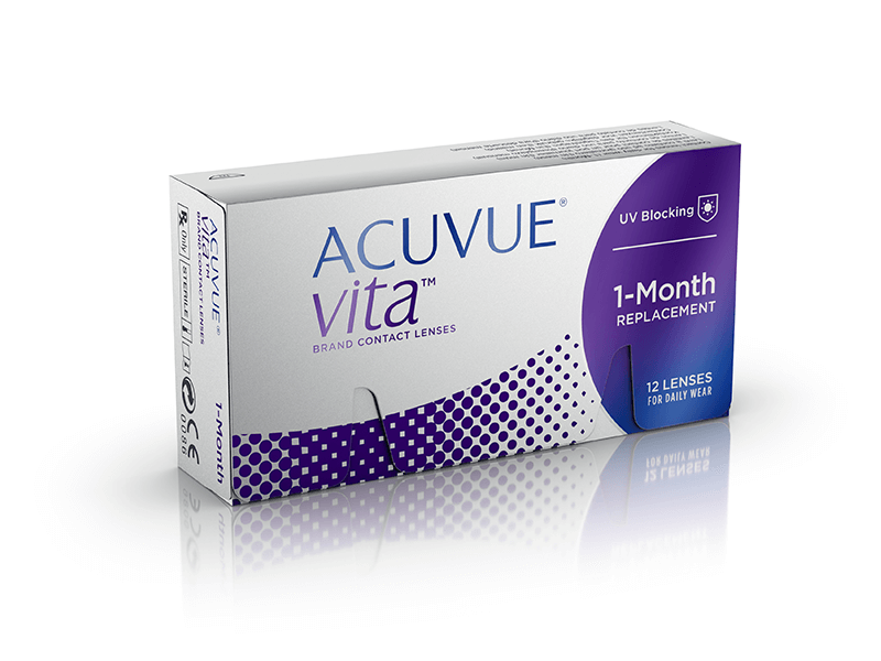ACUVUE VITA® creado con tecnología HydraMax®