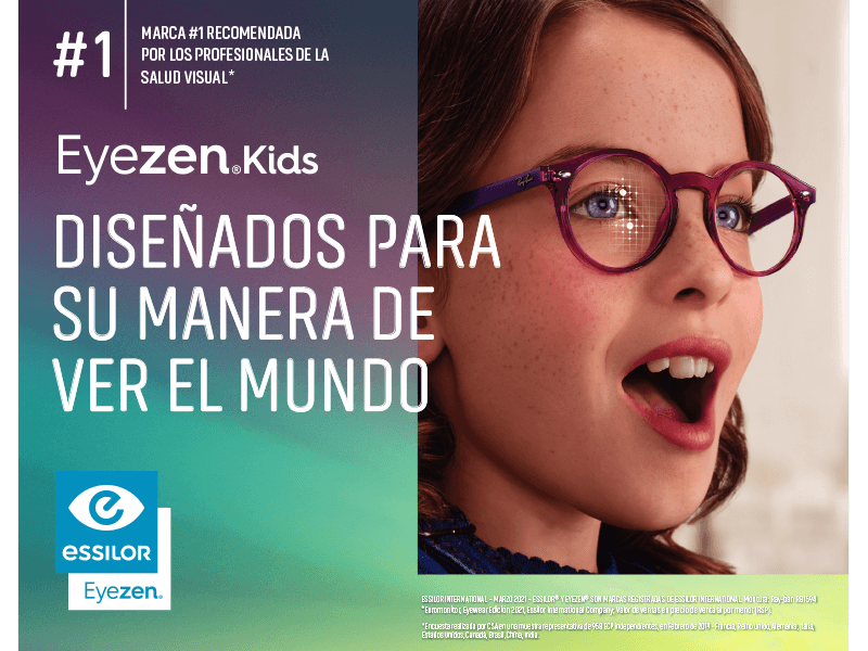 Eyezen® Kids, diseñados para su manera de ver el mundo